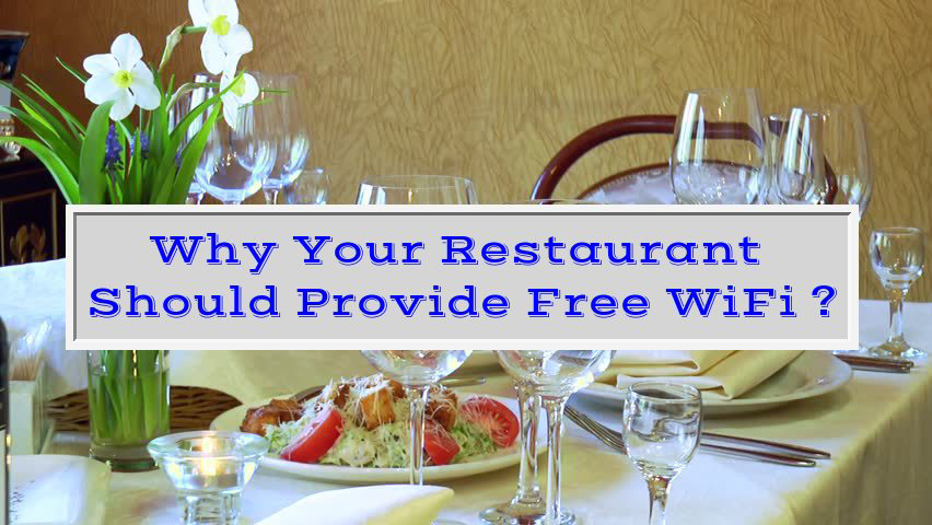 Free WiFi in Restaurants