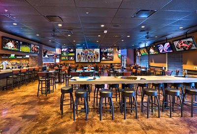 Sports Bar Audio Visual Design and Installation 2